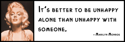 Unhappy Alone Than Unhappy With Someone Unhappy Alone Than Unhappy