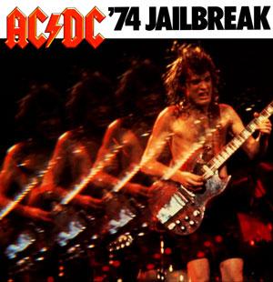 AC-DC - '74 Jailbreak (1984) Album Poster 24